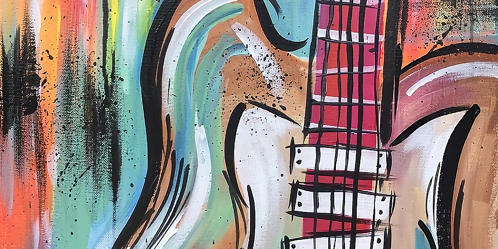 """Painting and Vino with Susie """"Abstract Vibes"""""""