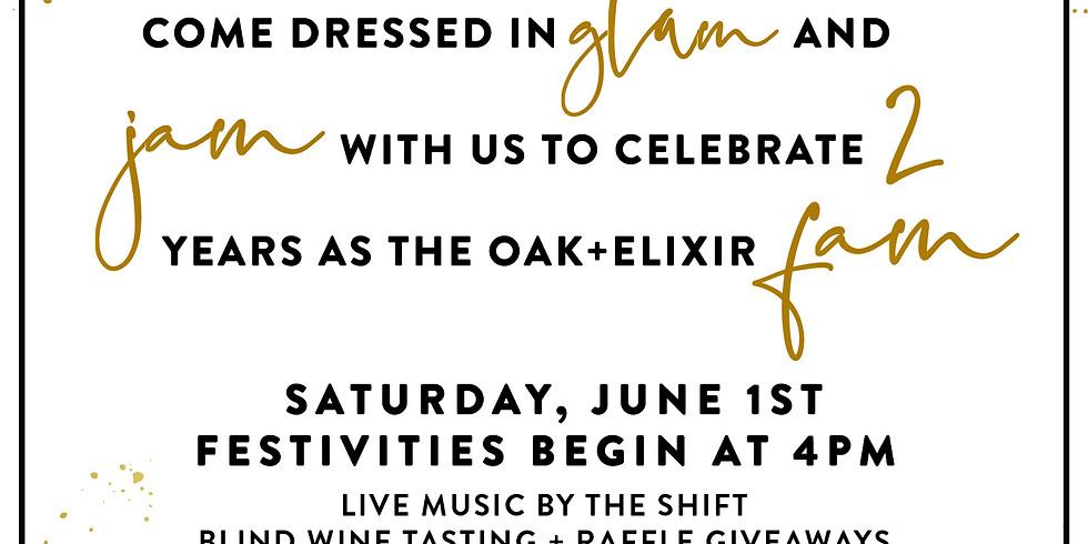 Oak + Elixir 2nd Anniversary Party