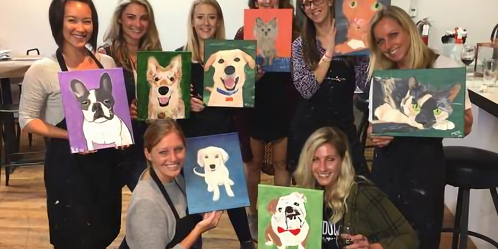 """Painting & Vino with Susie """"Paint Your Pet"""""""