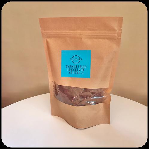 Caramelised Chocolate Almonds