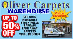 Oliver Carpets Web Banner