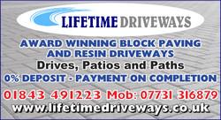 Lifetime Driveways