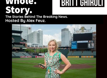 Episode 33: Britt Ghiroli, Washington Nationals Writer of The Athletic & MLB Network Contributor
