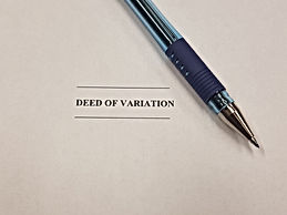 Deed of Variation