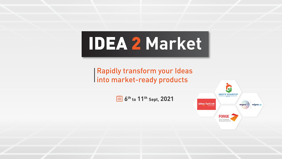 Rapidly transform your ideas into market-ready products