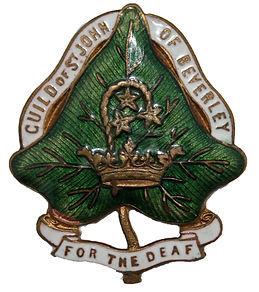 St John of Beverley for the deaf