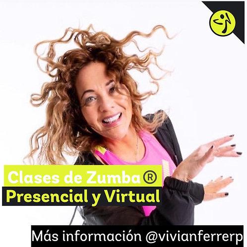 CLASES DE ZUMA con Vivian Ferrerp