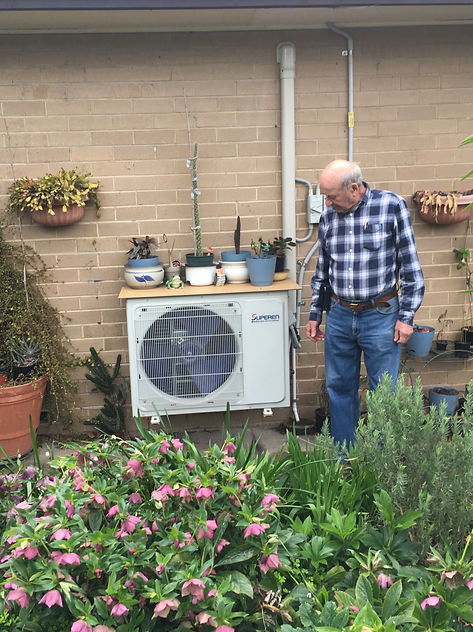 Solar air con customer review