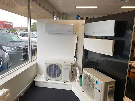 Solar Air Con retail display