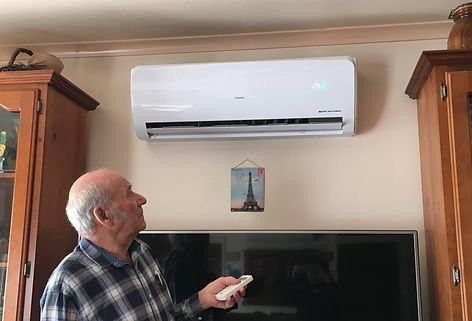 Solar air con customer