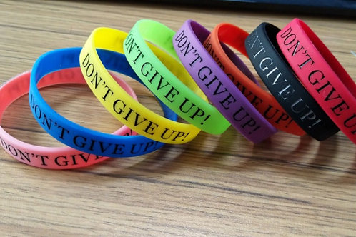 FCD DON'T GIVE UP! Wristbands
