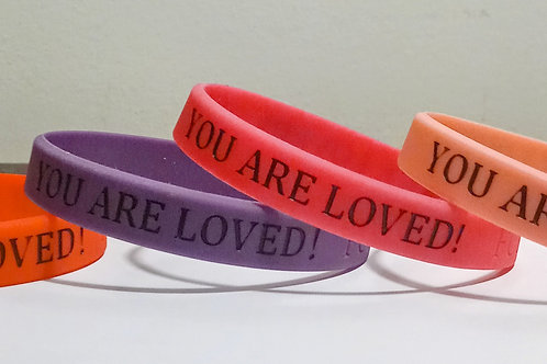FCD YOU ARE LOVED WRISTBAND