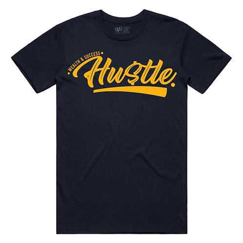 Hustle Tee (Navy)