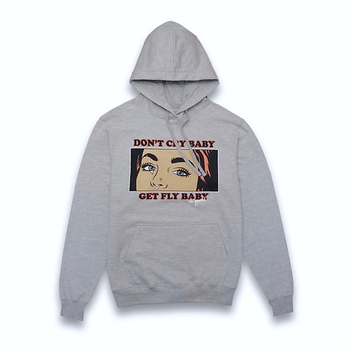 Cry Baby Hoodie Heather