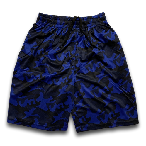 OTA Camo Shorts Royal