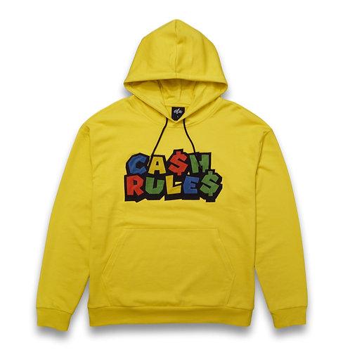 Cash Rule$ Hoodie Yellow