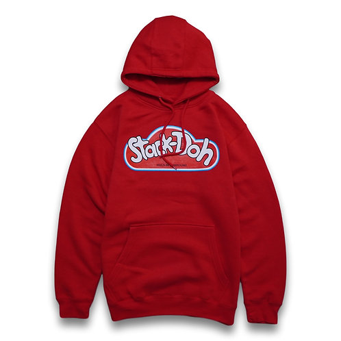 stack doh hoodie red