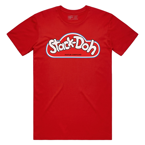 Stack Doh Tee (Red)