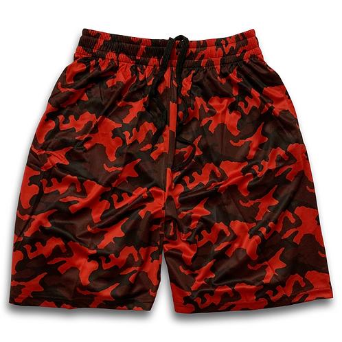 OTA Camo Shorts Red