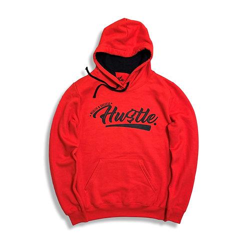 Hustle Hoodie Red