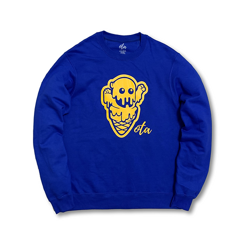 Burr Crewneck (Royal)