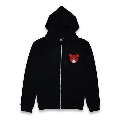 OTA Bear Zip up black
