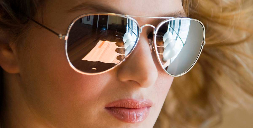 Oculos para proteção solar