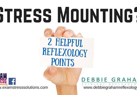 2 Reflexology Points to Calm Exam Stress