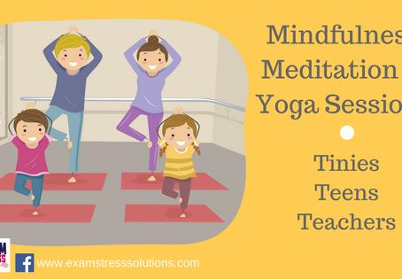 Mindfulness & Meditation Sessions for Pupils