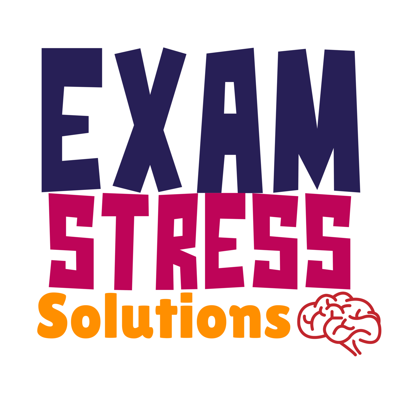 EXAM STRESS LOGO
