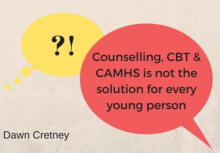 Counselling for every young person?...I don't think so
