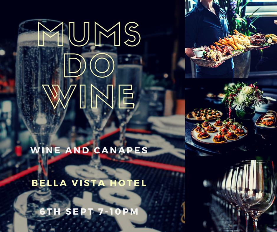 Mums Do Wine event