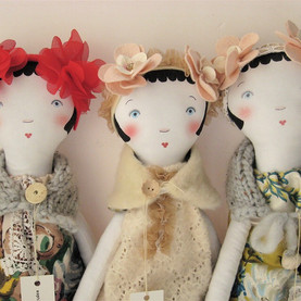 The very first Petranille dolls