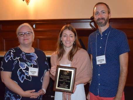 Sophie awarded Phycological Society of America's Norma J. Lang Early Career Fellowship