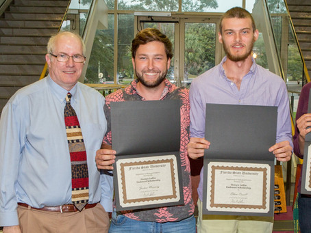 Josh and Ethan receive multiple research awards in 2018