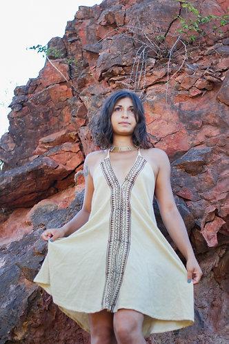 Maxi dress tribal