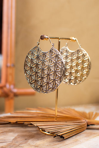 Flower of life ear weight