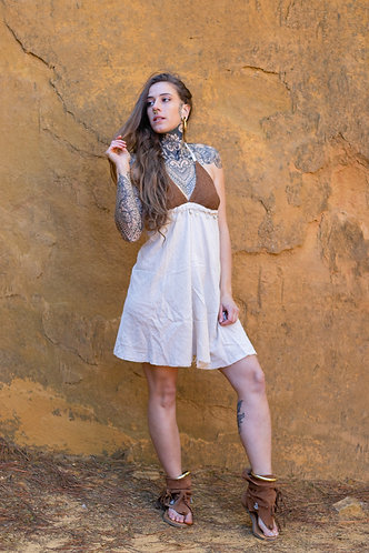 Boho coin dress