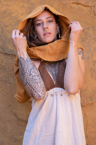 Capuche foulard