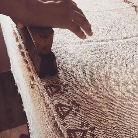 • Découverte d'une technique ancestrale : le Block Print •