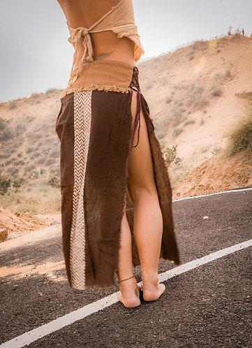 Tribal long skirt