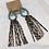 Thumbnail: Small Turquoise Long Tassel