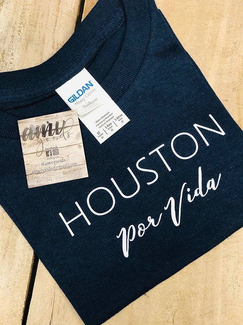 Houston Por Vida Youth Navy