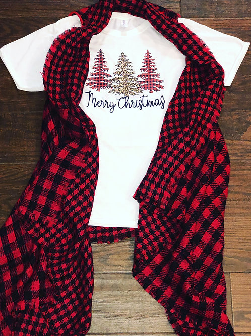 Merry Christmas Short Sleeve Shirt