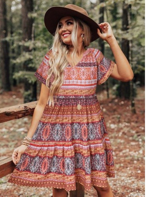 Relax and flow dress