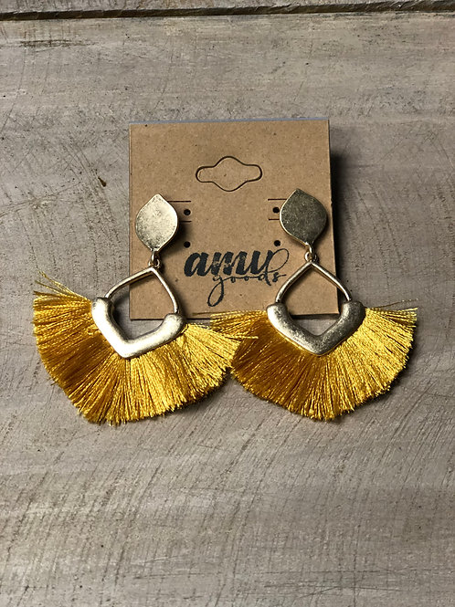 Mustard Yellow and Gold