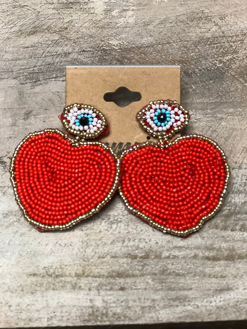 Red Heart Ojo