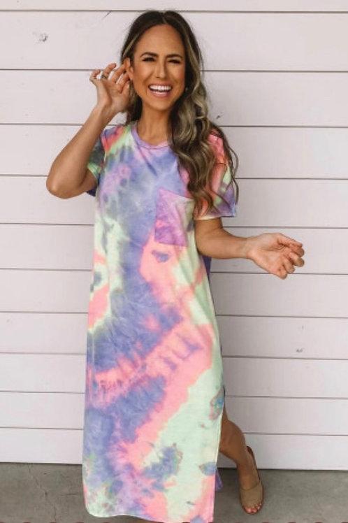 Tie dye fun dress