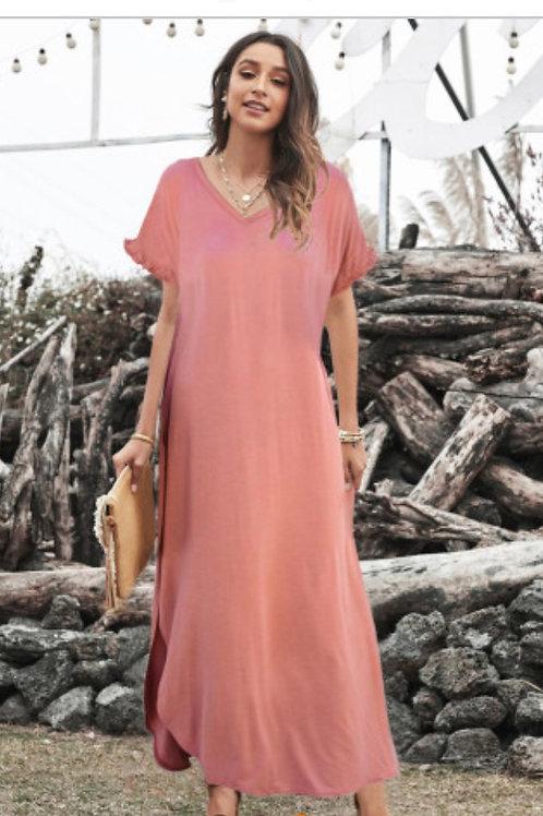 Pink weekend dress