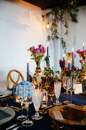 Moody Tablescape.